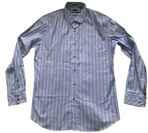 Paul Smith London Ls Gestreiftes Hemd Slim Fit Kontrast Manschette 17/43 p2p