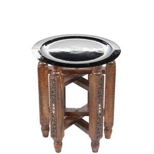 Orientalischer Marokkanischer Beistelltisch Tisch Teetisch Klapptische Tablett