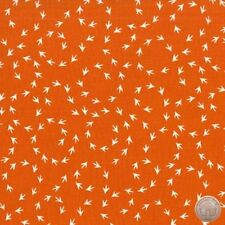 Michael Miller Chicken Scratch Sunny Orange 100% Cotton Fabric By The Yard