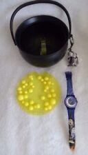 Relojes de pulsera Swatch resistente al agua de resina