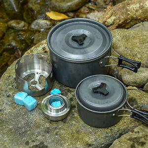 Outdoor Windproof Camping Alcohol Stove Portable Boiler Heater Cooking Furnace