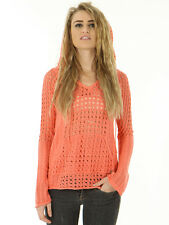 O'Neill Casey Sweater in Coral Women's - XS