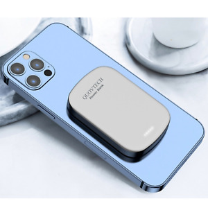 QUOVTECH Power Bank Fast Magnetic MagSafe Apple iPhone Slim iPhone 12 Charger