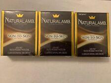 3 Pack - Trojan™ Naturalamb™ Natural Skin Lubricated Condoms 3 Each, Exp 2023+