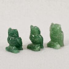 1PC Natural Carved Crystal Jade Animals Stone Feng Shui Figurine Desk Decor