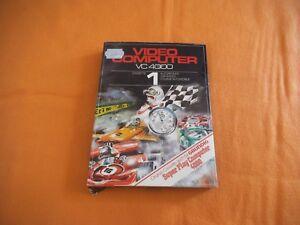 Video Computer VC 4000 Cassette Nr 1 in OVP inkl Beschreibung Interton
