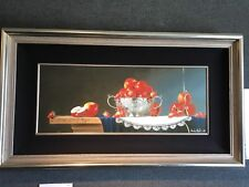 Still Life With Apples - Charles Becker Limited Edition