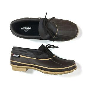 Baffin Coyote Duck Shoes Mens Size 12M Brown Rain Snow 4900-0390