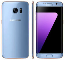 Téléphones mobiles bleus Android Samsung Galaxy S7 edge