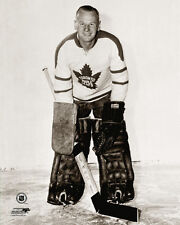 Johnny Bower GOALIE CLASSIC c.1961 Toronto Maple Leafs Premium NHL POSTER Print