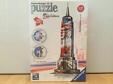 Ravensburger 3D Puzzle Empire State Building Flag Edition - NEW