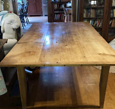 Reclaimed Barn Wood Harvest Farm Table!  8 X 4 Feet, Beauty!