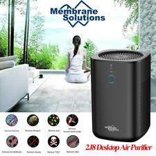 Air Purifiers Desktop Air Cleaner w/True Hepa Filter,3Speeds,99.99% Purification