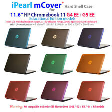 """NEW CLEAR mCover® HARD Shell CASE for 11.6"""" HP Chromebook 11 G4 EE / G5 EE"""