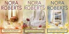 Nora Roberts DREAM TRILOGY in LARGE TRADE PAPERBACK Editions Set of Books 1-3