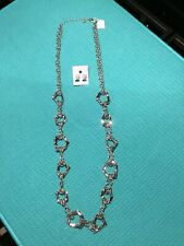 New with Tag + Free Earrings Lia Sophia Ricochet Necklace Rv $120
