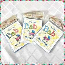 New 24 Count Debbie Mumm Vintage Baby Birth Announcements w Mailing Envelopes
