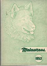 1953 Ritenour High School Yearbook, Melaureus, St. Louis, Missouri