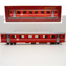 BEMO H0m Schmalspur 3276 582 Personenwagen BVZ  1.Kl. Glacie TOP/OVP C3510