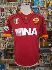 maglia calcio shirt maillot camiseta trikot ROMA MONTELLA TG L PATCH