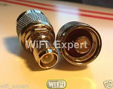 Rp-Tnc Female To N Male Rf Connector Adapter WiFi Antenna Router Usa