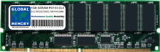 1GB PC133 133MHz 168-PIN ECC REGISTERED RDIMM RAM FOR SERVERS/WORKSTATIONS