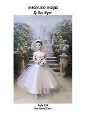 "SEWING PATTERN-Style 126 Film Inspired Wedding Dress Gene Tyler 16"" Poppy Parker"