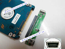 "2.5"" HDD 44Pin IDE PATA Female to Mini USB 5pin Female Converter Adapter"