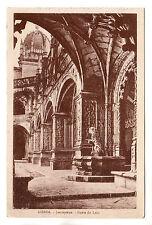Fonte Do Leao Jeronymos - Lisboa Photo Postcard c1920s / Lisbon