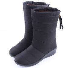 Hot Womens Winter Snow Mid Calf Boots Fur Lining Waterproof Platform Warm Shoes