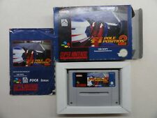 F1 POLE POSITION 2   (S-NES)   TOP OVP***