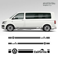 Volkswagen VW California Side Stripe Decal T4 T5 T6 Caravelle Véhicule Graphique