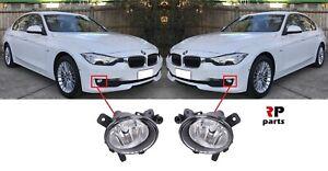 FOR BMW 3 SERIES F30 F31 F34 12 - 16 NEW FRONT BUMPER FOGLIGHT LAMP PAIR SET