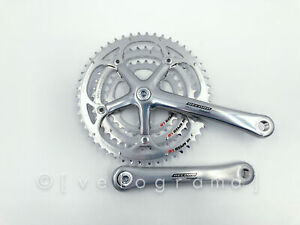 NOS - Crankset Campagnolo Record FC03-RE10 Triple 50-40-30 10s Made in Italy