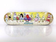 Toy Machine 8.0 Last Supper Skateboard Deck w/ Free Grip Tape