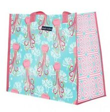 New Simply Southern Tees T Shirts co. Vinyl Market Tote Reusable Bag Jellyfish