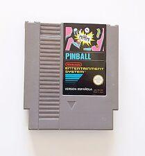 Game / Juego Pinball Nintendo NES (1985) (Original) (Esp) (NES)