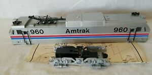 WILLIAMS O SCALE AMTRAK GE E-60 SHELL with TRUCK FRAME