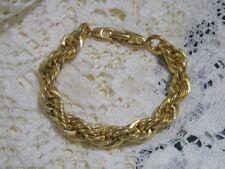 Napier Gold Chain Bracelet - NWOT - Shines like real gold!