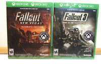 Fallout 3 Game of the Year & New Vegas Ultimate Edition Xbox One/360 (Lot of 2)