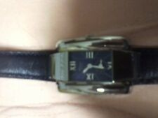 Chopard La Strada Wristwatch stainless steel with blue leather band