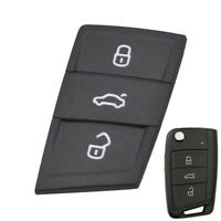 3 Button For Skoda Octavia Fabia Kodiaq Karoq Car Key Fob Pad Rubber Repair