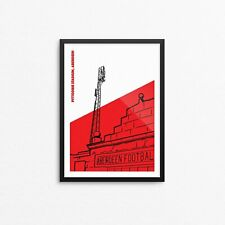 More details for pittodrie floodlights art