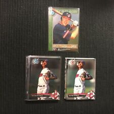 2017 BOWMAN DRAFT CLEVELAND INDIANS MASTER TEAM SET 15 CARDS  CHROME & INSERTS