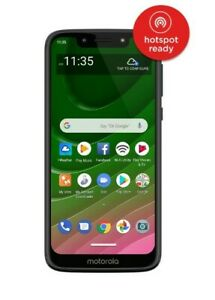 NEW Straight Talk Motorola Moto G7 Optimo 5.7'' HD+ 32GB Black 4G LTE Smartphone