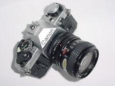 Canon AE-1 Program 35mm SLR Film MANUAL Camera w/ Tokina 25-50mm F4 RMC II Lens