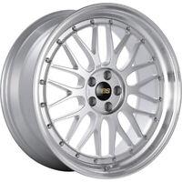 18x8.5 Silver Machined Wheel BBS LM 5x130 56