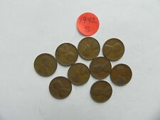 1942 S Lincoln Wheat Cent - One (1) coin from the coins pictured
