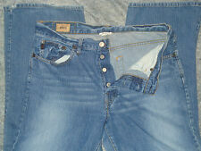 "Men's Abercrombie & Fitch ""Boot"" jeans sz 31 x 29 Button Fly"
