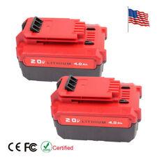 2 pcs 20V 4.0Ah PCC685L Li-ion Battery for Porter Cable PCC685L PCC680L PCC682